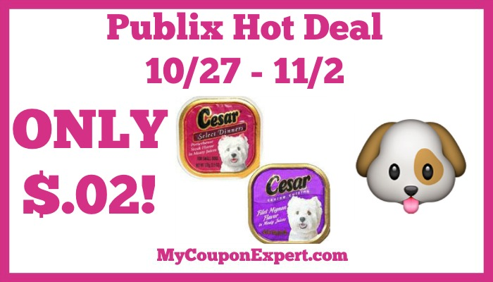Cesar Dog Food Deals