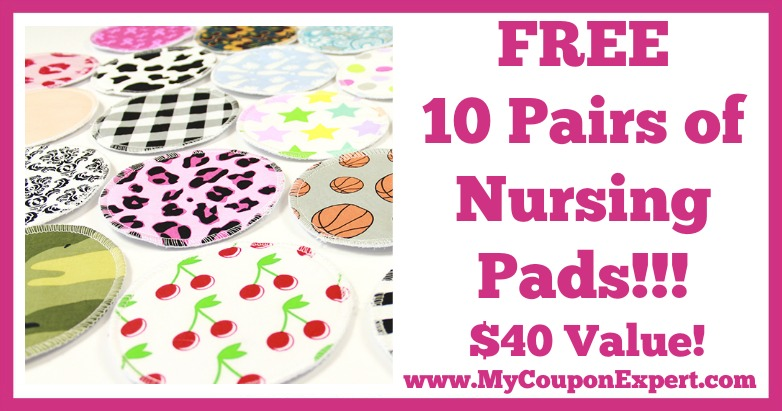 10 Pairs of Free Nursing Pads – $40 Value + TONS of Cute Patterns!!