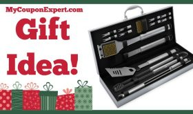 Hot Holiday Gift Idea! BBQ Grill Tools Set with 16 Barbecue Accessories Only $44.99 (48% Savings!)