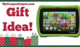 Hot Holiday Gift Idea! LeapFrog Epic 7″ Android-based Kids Tablet Only $96.87 – Lowest Price Online!!