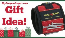 Hot Holiday Gift Idea! MagnoGrip Magnetic Wristband Only $12.95 (35% Savings!!)