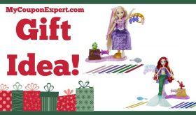 Hot Holiday Gift Idea! Disney Princess Rapunzel's or Ariel's Royal Ribbon Salon Only $9.99 (59% Savings!)