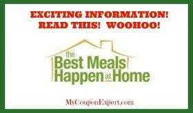 PUBLIX Best Meals Happen At Home 2017!  This is GOOOOOD!