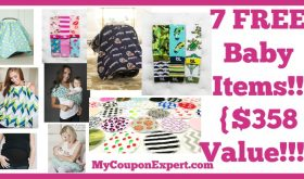 Having a Baby? Need a Shower Gift? 7 FREE Baby Items & You ONLY Pay Shipping!! {$358 Value!!!}