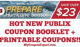 WHOOP!! HOT NEW Prepare for Hurricane Season Publix Coupon Booklet + Printable Coupons!!