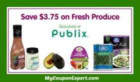 NEW PUBLIX PRINTABLE COUPONS!  Produce for Kids!