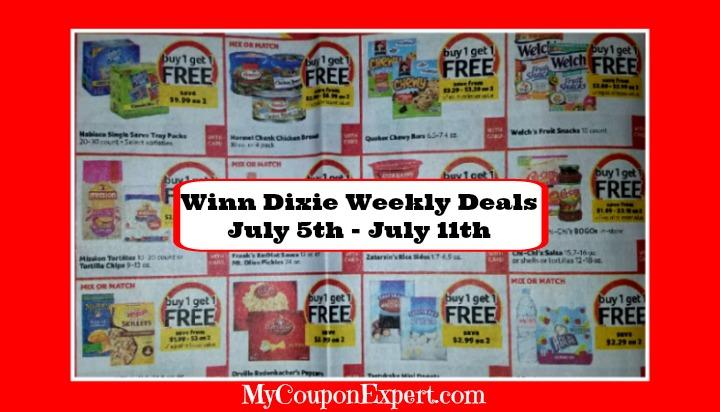 Winn dixie deals coupons