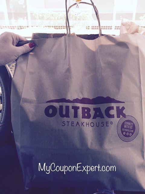 FREE Bloomin' Onion at Outback on MONDAY!!  Check this out!
