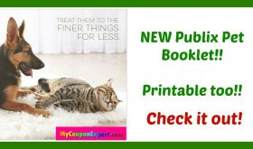 *NEW PUBLIX PET BOOKLET* Printable too for August 2017!