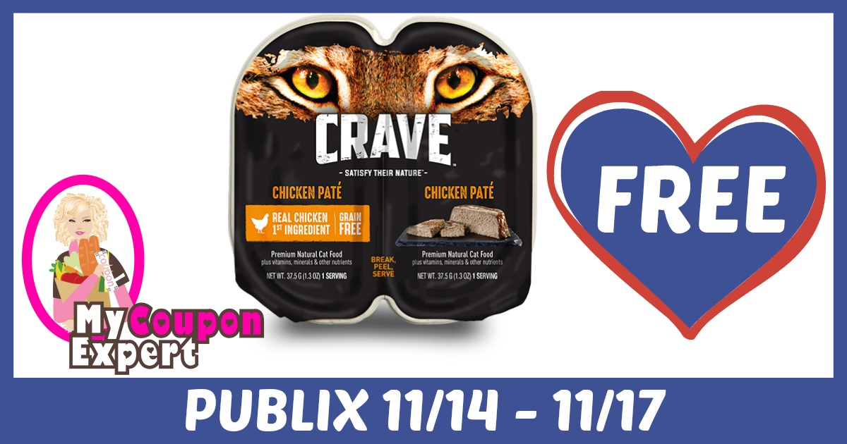 Crave Perfect Portions Cat Food