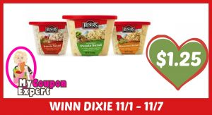 Reser's Products Only $1.25 each after sale and coupons