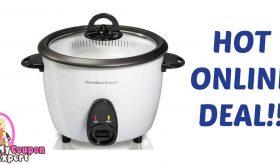 16-Cup Rice Cooker Under $7.00 – Reg. $30.00