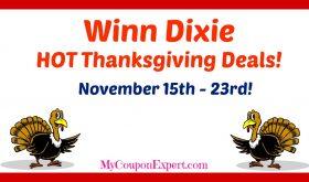 Winn Dixie HOT DEALS November 15th – 23rd!!