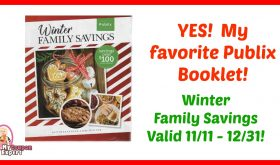 YES!  Publix Winter Family Savings Booklet is out!  Printable too!