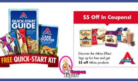 Check This Out!! FREE Atkins Quick Start Kit + $5 Off in Coupons!!