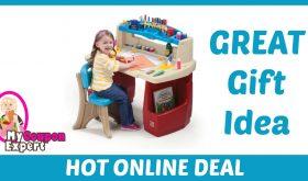 Deluxe Art Master Kids Desk Under $50!!