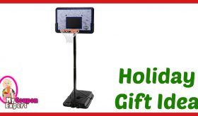 Hot Holiday Gift Idea! Lifetime Pro Court Height Adjustable Portable Basketball System UNDER $75.00 – 50% Savings