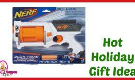 Hot Holiday Gift Idea! Nerf N-Strike Maverick Rev-6 UNDER $20.00 – 62% Savings!!