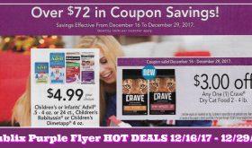 Publix Purple Flyer Deals December 16th – 29th!