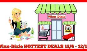 Winn Dixie Matchups December 6th – 12th!!  Check this out!