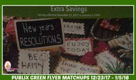 Publix GREEN FLYER Deals December 23rd – January 5th!