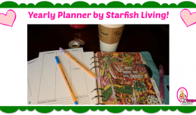 Check out this GREAT Gift Idea!  Adorable Planner from Starfish Living!