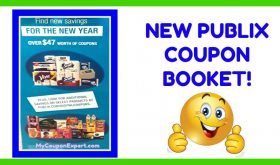 """""""For The New Year"""" Publix Coupon Booklet SUPER HOT!"""