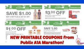 LOOK!  Publix A1A Marathon Printable Coupons!!  Love it!