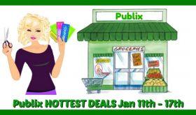 Publix HOTTEST DEALS January 11th – 17th!  Money Makers!