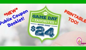 *NEW* Game Day Favorites Coupon Booklet!!  Printable Too!