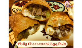 Philly Cheesesteak Egg Rolls – Delicious!