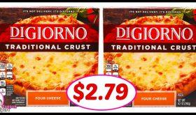 DiGiorno Pizza Deal at CVS just $2.79 each!