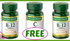 Nature's Bounty FREE for some at Winn Dixie 3 days only!