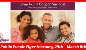 Publix Purple Flyer February 24th – March 9th!