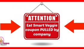 EAT SMART COUPON PULLED BY COMPANY!