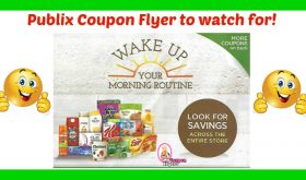 Publix Coupons!  Wake Up Your Morning Routine!