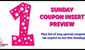 P&G Insert coming on Sunday, April 1st!!
