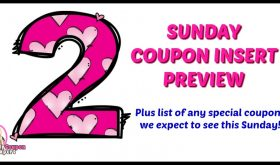 Coupon Insert Preview – Sunday, May 20th!!