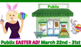 Publix TEN DAY Easter Ad, March 22nd – 31st!