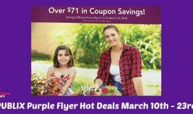 Publix Purple Flyer Hot Deals March 10th – 23rd!