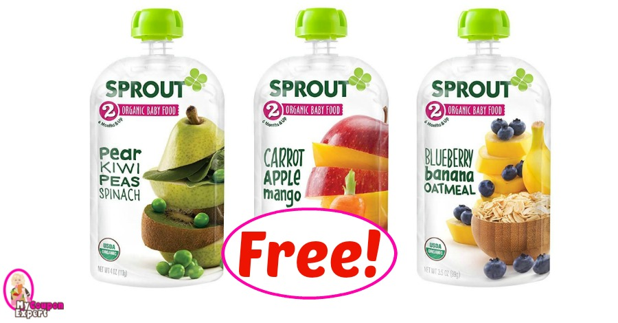 Sprout Organic Baby Food Pouches