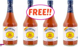 FREE Sweet Baby Rays Hot Sauce!!  Hurry!!