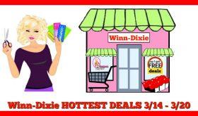 Winn Dixie HOT DEALS March 14th – 20th!!