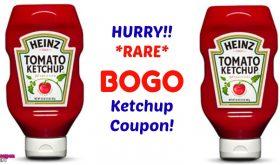 HURRY!!  Print your BOGO Heinz Ketchup Coupon!!!