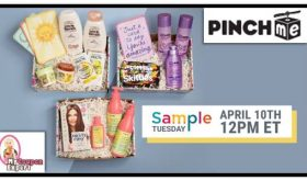 Did you sign up for your BOX OF SAMPLES?!  Hurry!