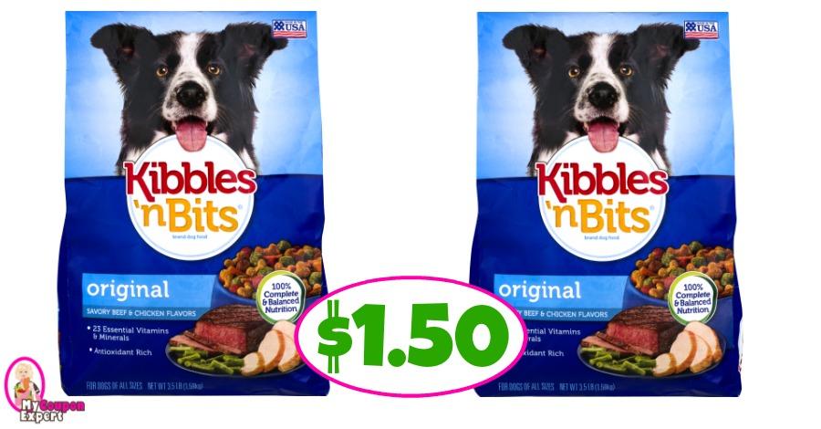 Printable Kibbles N Bits Dog Food Coupons