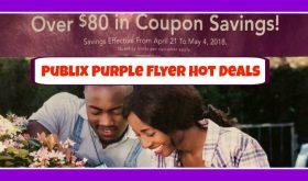 Publix Purple Flyer Deals April 21st – May 4th!!