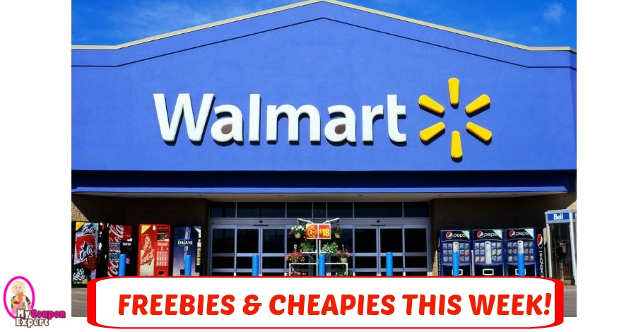 Walmart Freebies & Cheapies as of April 2nd!!