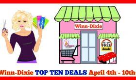 Winn Dixie TOP TEN DEALS for April 4th – 10th!