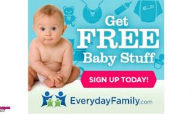 Everyday Mom Sampling Club!  Receive a box of samples each month!